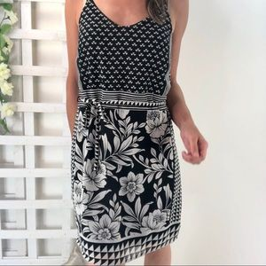 Vero Moda Dress NWOT Shift floral mixed pattern